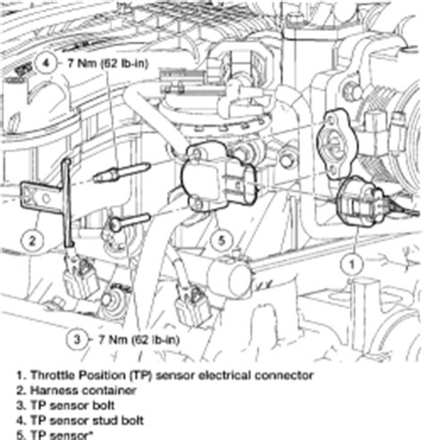 small engine repair training 2004 ford escort head up display repair guides component locations throttle position sensor autozone com