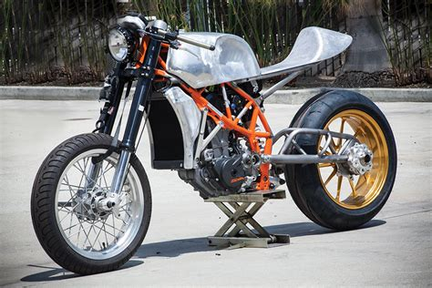 Ktm Cafe Racer Roland Sands Shows The Ktm 690 Cafe Moto Autoevolution