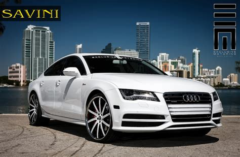 Audi A7 Wheels by Audi A7 Savini Wheels Sv37 C Exclusive Motoring
