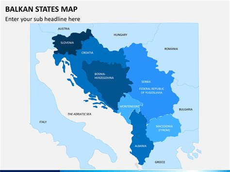 balkan states map balkan states map powerpoint sketchbubble