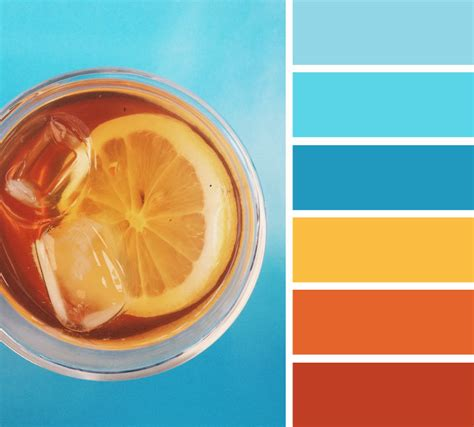 orange color schemes orange and teal color scheme summer color palette