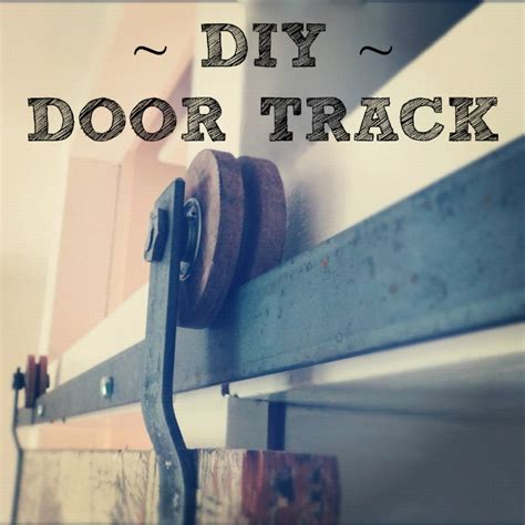 A Diy Tutorial On How To Make Your Own Barn Door Hardware Make Your Own Barn Door Hardware