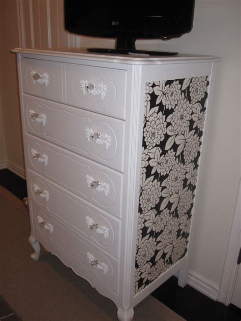 Ways To Decorate A Dresser by How To Use Wallpaper For Back To School Brewster Home
