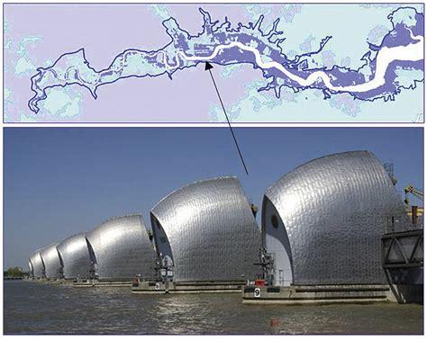 thames river barrier how it works thames barrier success images