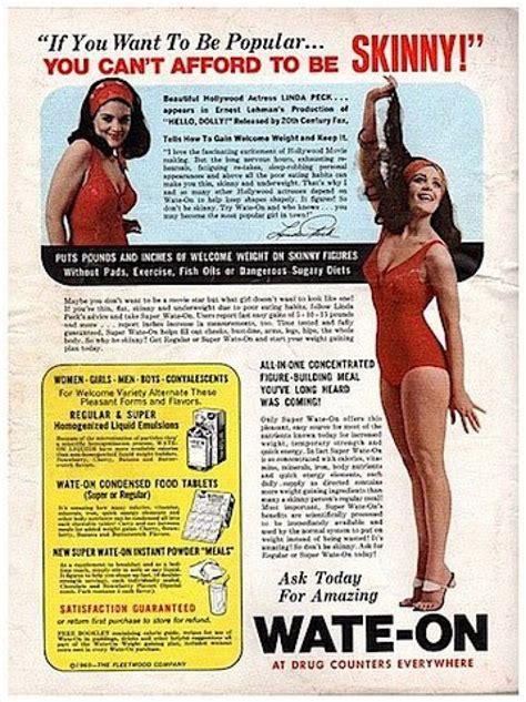 Magazine Gain Weight by Vintage Weight Gain Ads Discourage Bodies Photos