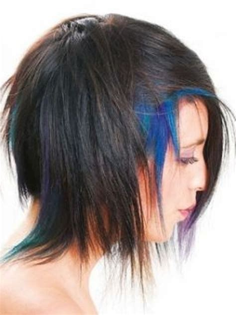 edgy medium length hairstyles photo gallery of the how