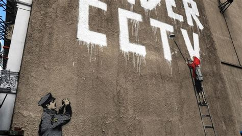 latest banksy artwork covered   developers daily