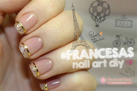 imagenes uñas decoradas elegantes u 209 as francesas 100 im 193 genes y videos u 209 as decoradas