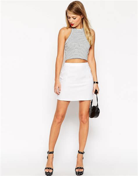 Mini Skirt line mini skirt home