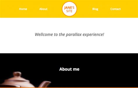 parallax template free parallax template milan andreasviklund