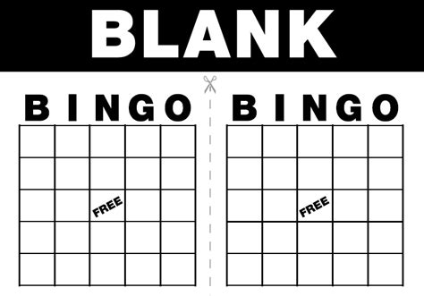 blank bingo card template free bingo card template beneficialholdings info