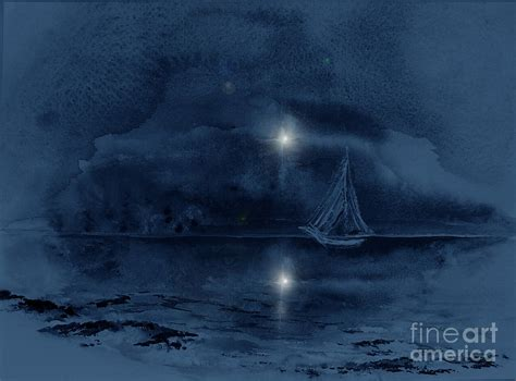 ghost ship painting by sibby s