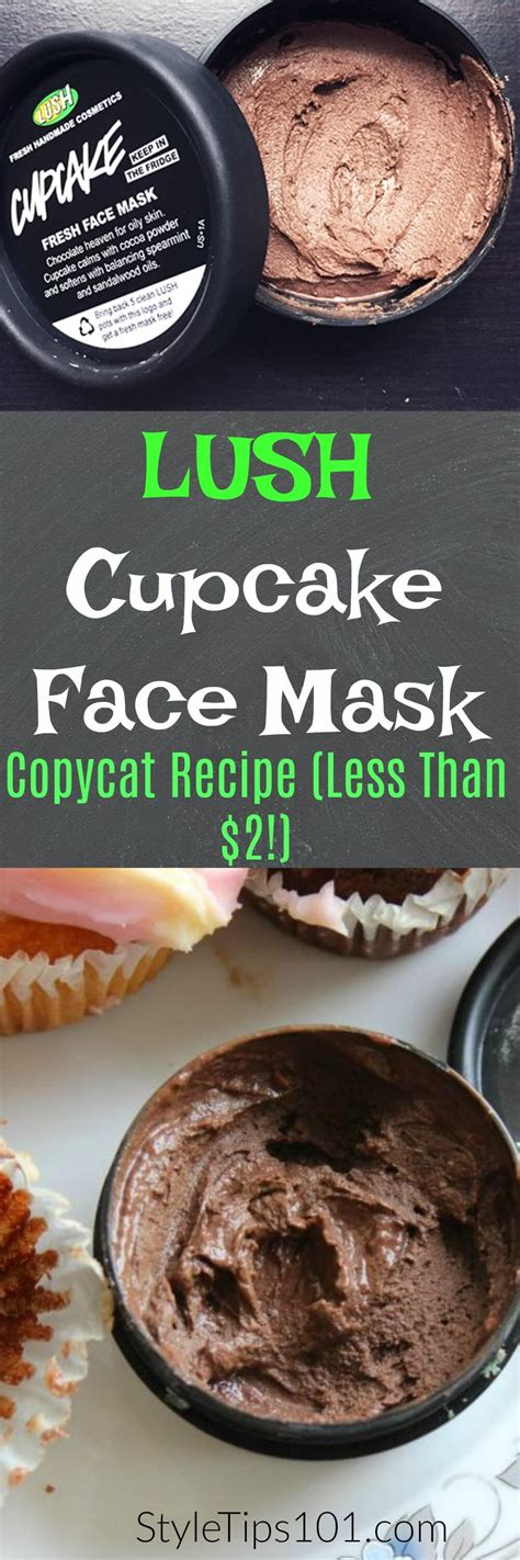diy lush cupcake mask diy lush cupcake mask dupe