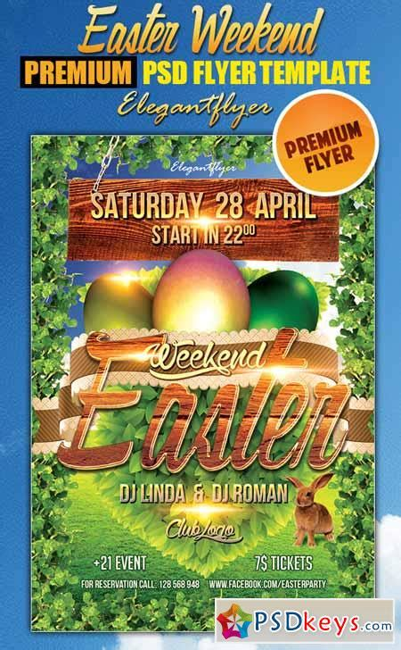 Easter Weekend 2 Flyer Psd Template Facebook Cover 187 Free Download Photoshop Vector Stock Flyer Template Psd 2