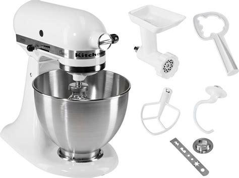 Kitchen Aid Uk Price by Kitchenaid 174 K 252 Chenmaschine Classic 5k45ss Ewh Inkl