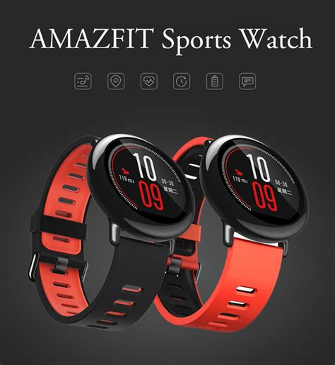Xiaomi Huami Amazfit Pace International Version Smart original xiaomi huami amazfit rate smartwatch