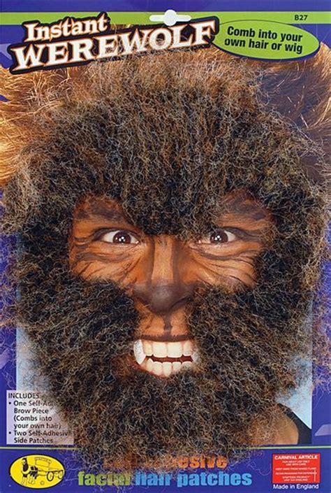 halloween costume werewolf hair  love werewolves