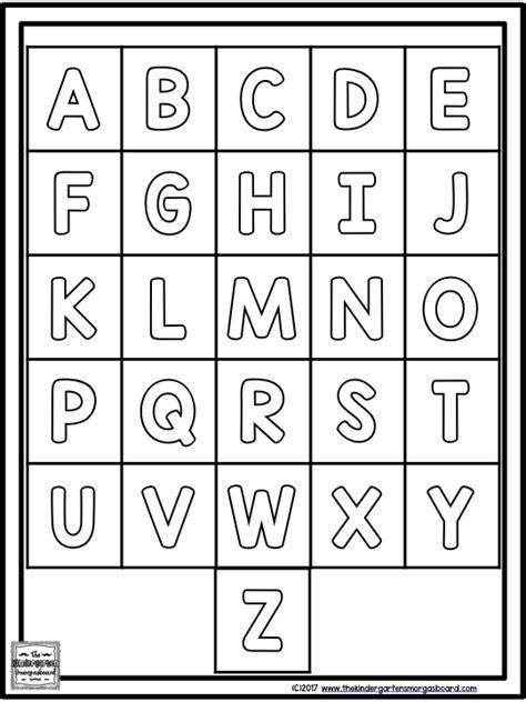 3 Letter Identification Activities | The Kindergarten