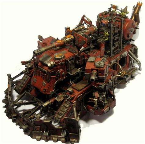 siege fortress battle fortress conversion looted orks heavy