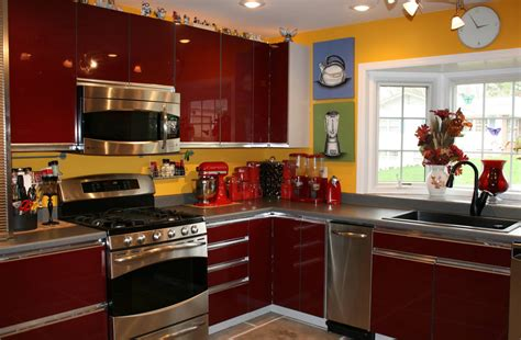 kitchen decorating ideas with red accents red kitchen decor ideas kitchen decor design ideas