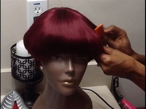 mushroom style wig how to make a mushroom style wig pt 2 youtube