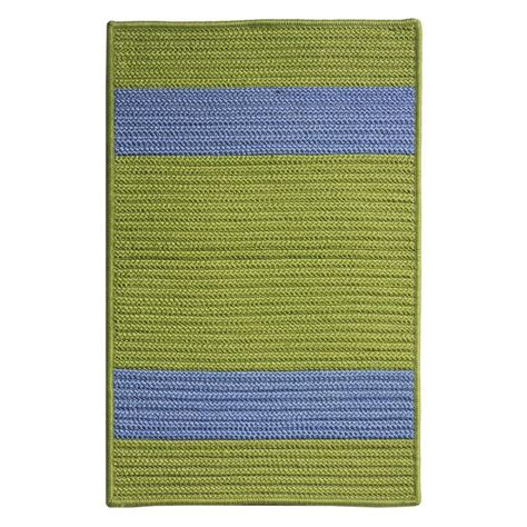 11 x 14 outdoor rug home decorators collection cafe 11 ft x 14 ft bright green blue indoor outdoor braided