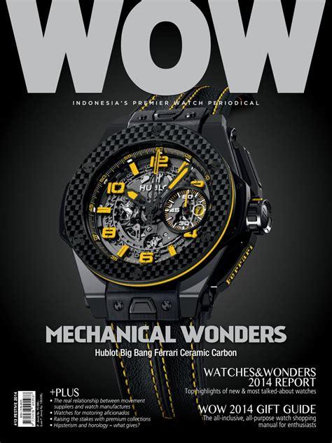 Jam Tangan Hublot La Swiss Premium 2 World Of Watches 13 Festive Issue 2014 By Arvada