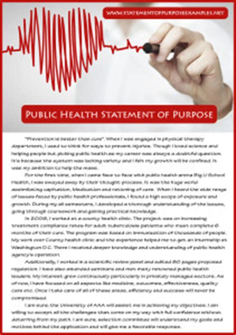 Healthcare Mba Canada by How To Write Health Statement Of Purpose Sle
