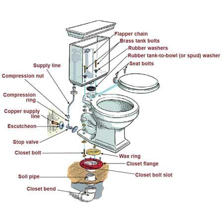 Replacing A Toilet How To Replace A Toilet By A Simple Method Home Harmonizing