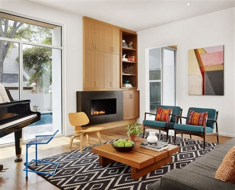 wohnzimmer modern schwarz weiß wohnzimmer design teppich