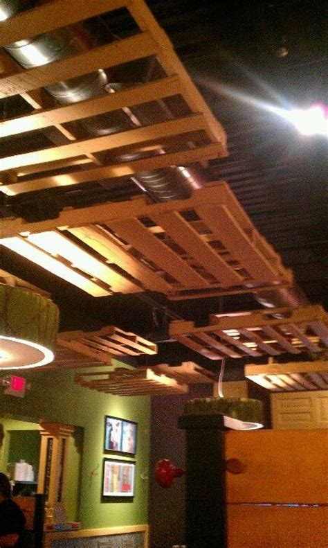 pallet ceiling diy pinterest pallets ceilings and