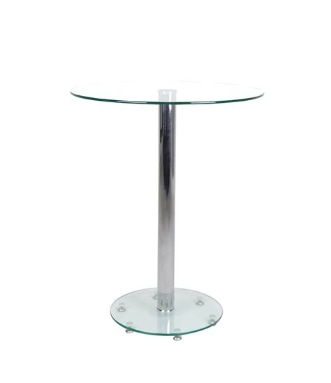 glass top bar table manchester furniture supplies