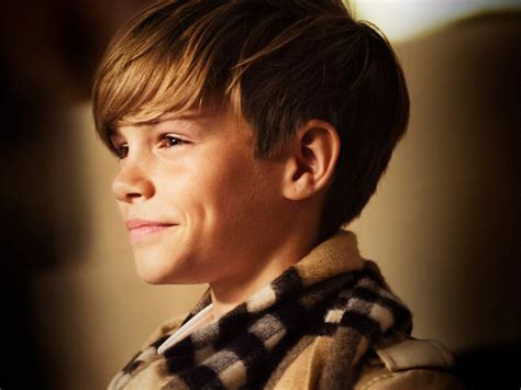 hair model boy romeo beckham oceanup teen gossip