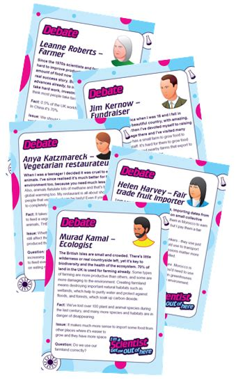 debate cards template resources for teachers i m a scientist get me out of