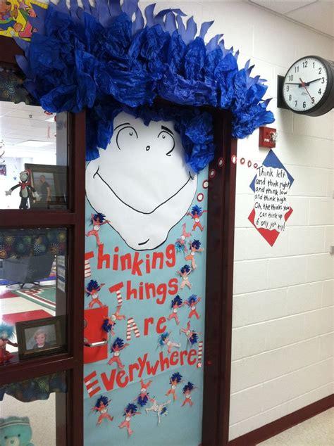 Dr Seuss Door Decorating Ideas by Classroom Door For Dr Seuss Day School Ideas