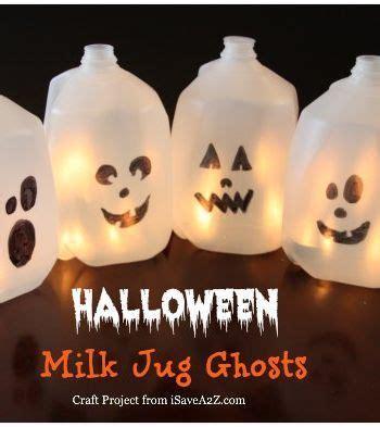 kids halloween craft cute ghost milk jug easy 18 best images about fairies on pinterest get jar glow