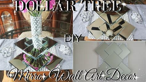 diy dollar tree bling mirror wall home decor