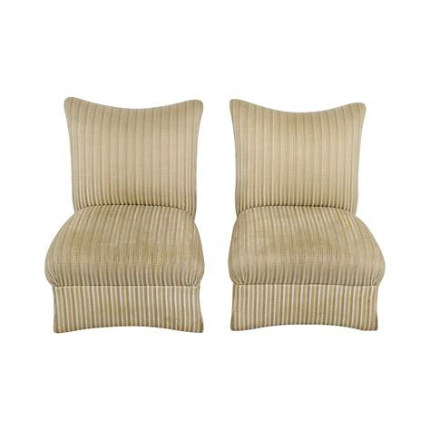 ethan allen chairs 90 ethan allen ethan allen striped accent chairs