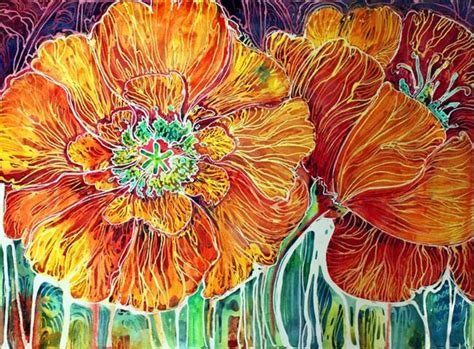 abstract design for batik poppies batik abstract by marcia baldwin from abstracts
