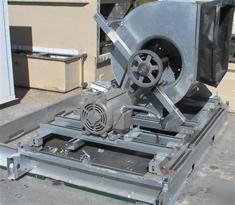belt driven squirrel cage fan 25 hp belt drive hvac fan squirrel cage 27 quot sq 25 000cf