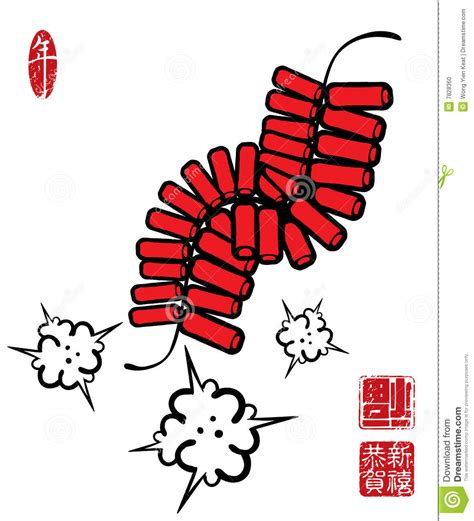 new year firecrackers vector china cracker clipart clipground