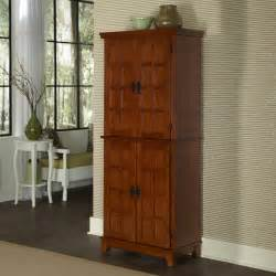 home styles arts crafts kitchen pantry cottage oak