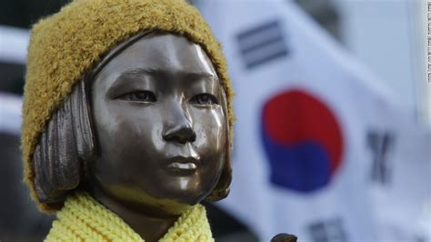 comfort women korea comfort women how the statue of a young girl caused a