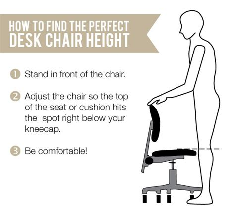 office chair height ergonomics how to find the ergonomic desk chair height