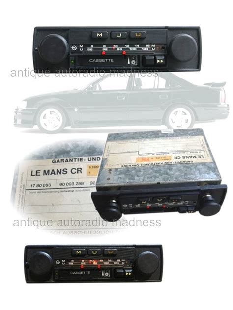 1980 1981 Audio Radios And Audio opel 1981 vintage car radio