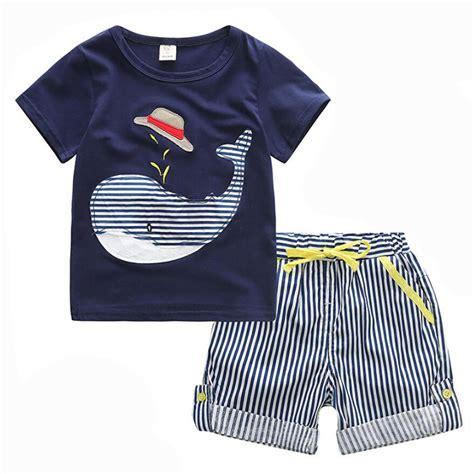 design t shirt murah 80 130cm cotton kids boys clothes children clothing sets