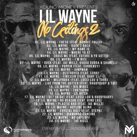 Lil Wayne No Ceilings Song List lil wayne no ceilings 2 mixtape