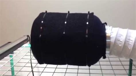 carbon filter fan for grow room how to make a cheap carbon air filter for growing cannabis