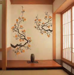100 Art Home Design Japan Shirley Wall Decal Tree | cherry blossom wall decal living room bedroom flower