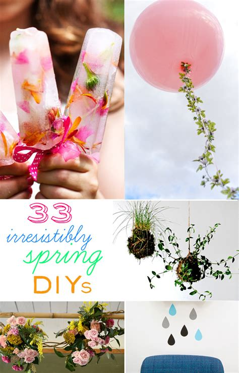 spring diys 33 irresistibly spring diys